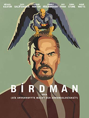 Birdman oder (Die unverhoffte Macht der Ahnungslosigkeit) [dt./OV]