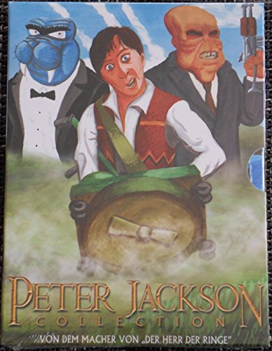 Peter Jackson Collection 'Bad Taste-Meet the Feebles-Braindead' Uncut