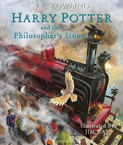 Harry Potter and the Philosopher's Stone: Illustrated Edition (Harry Potter, 1)