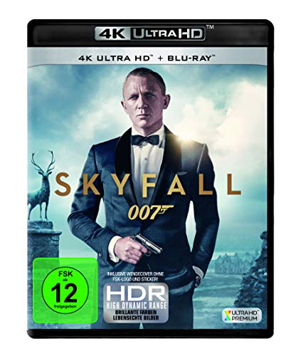 Skyfall ( 4K UHD + Blu-ray )